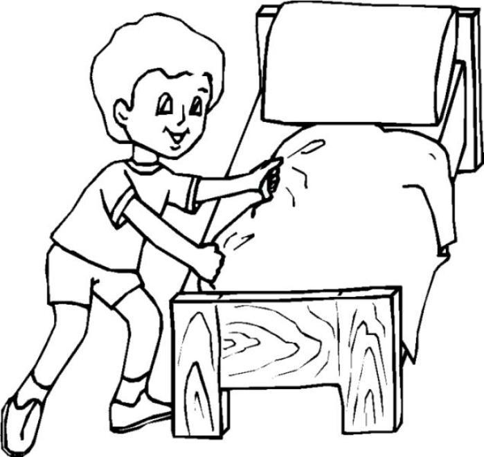 Niños obedientes para colorear - Imagui