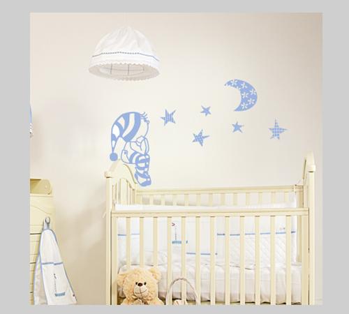 Vinilos princesas y princesos for Vinilos cuartos bebe